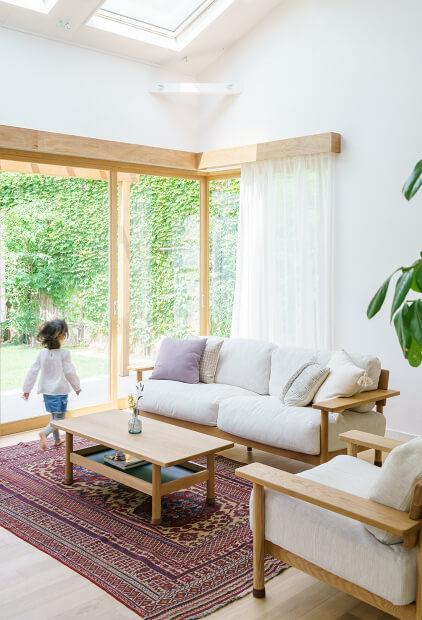 家の内観の写真